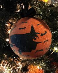 Halloween Ornament Tree by Diy Sparkly Halloween Tree Forever Green Mom