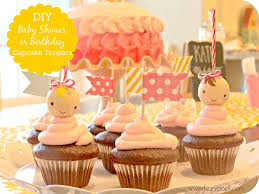 diy baby shower or birthday cupcake toppers fizzy pops