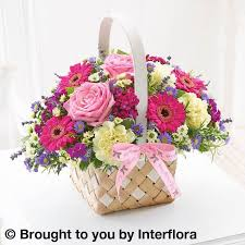 Mothers Day Baskets Mothers Day Basket Arrangement The Flower Shop London House