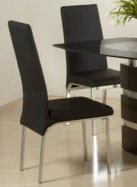 Black Gloss Dining Table And 6 Chairs High Gloss Finish Modern Dining Table W Optional Chairs