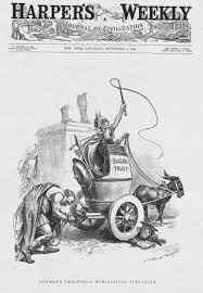 new yorker thanksgiving cartoon the historical society why were tariffs politically important in