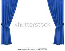 Blue Silk Curtains Blue Curtain Stock Images Royalty Free Images U0026 Vectors