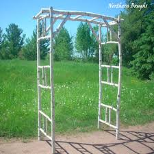 wedding arch kit 3 white birch wedding arch kit arch arbors and wedding
