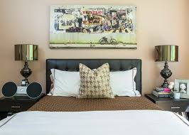 bedding decorative pillows leather headboards look new york contemporary bedroom image ideas