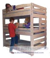 Extra Long Twin Bunk Bed Plans by Bunk Beds Unlimited August 2013