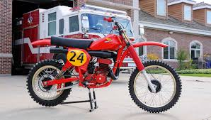 first motocross bike honda