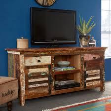Reclaimed Boat Wood Furniture Reclaimed Indian Large Media Cabinet Casa Bella Furniture Uk