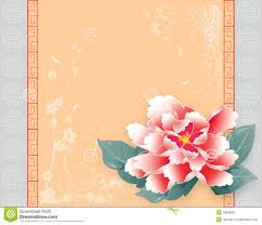 lunar new year cards new year card peony stock illustration illustration of