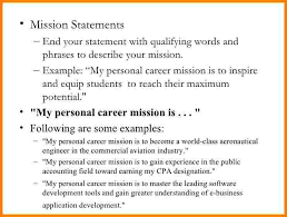 Resume Mission Statement Resume Statements Examples Beautiful Resume Objective Example For