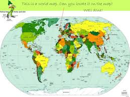 where is the republic on the world map the republic of ireland pw pt presentation