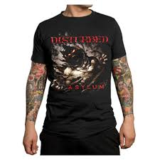 disturbed outrage mens t shirt