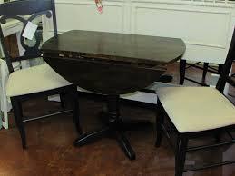 Drop Leaf Pedestal Table Large Vintage Oval Drop Leaf Dining Table C For Small