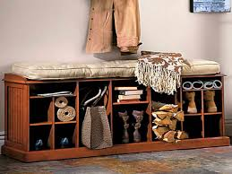 shoe and boot cabinet entryway bench with shoe storage and coat rack marinaeconomics