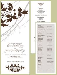 Wedding Program Wording Wedding Program Wording Like The Overall Look Of This Program