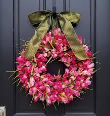 Tulip Wreath Best 25 Tulip Wreath Ideas On Pinterest Spring Door Wreaths