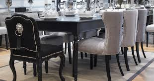 black lacquer dining room set home design inspirations