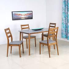 neelkamal dining table home by nilkamal kartell engineered wood 4 seater dining set price