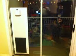 Vinyl Pet Patio Door Petsafe Freedom Patio Panel Pet Door Sliding Screen With Built