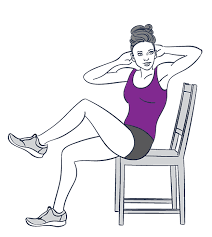 Chair Exercises For Seniors 9 Exercises You Can Do While Sitting Down Prevention