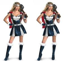Avengers Halloween Costumes Cheap Thor Cosplay Woman Aliexpress Alibaba Group