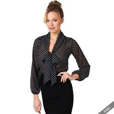 womens blouses for work krisp womens see through chiffon blouse tie sleeve