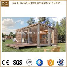 container fabricated log cabins wooden house prefabricated