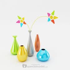 3d Flower Vase Simply Flower Vases 3d Max Model Vray Free Download 3d Models