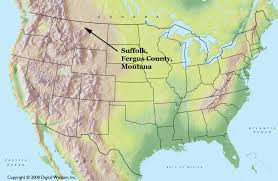 Montana Usa Map by Suffolk Montana Planet Suffolk Bringing Together The Suffolks