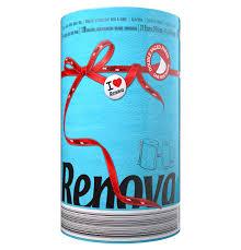 renova 2 ply double faced paper kitchen towel ebay