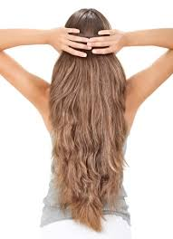 back of the hair long layers got course thick hair don t despair yba