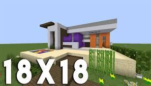Maison Modern Minecraft by Minecraft Tuto Construction Maison Moderne En 18x18 Youtube