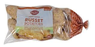 wellsley farms russet potatoes 10 lbs bj u0027s wholesale club