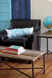 Build Your Own Reclaimed Wood Coffee Table by Diy Reclaimed Wood Coffee And Side Tables