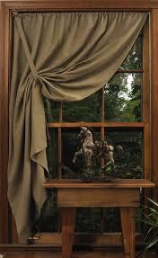 Primitive Curtain Tie Backs My Shaker Pullback Curtain Window Bedrooms And Bath