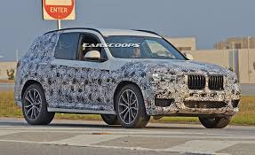 2018 bmw x3 shows more skin in latest spy shots carscoops com