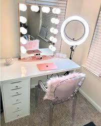Makeup Organizer Desk Makeup Storage Desk Makeup Room Ideas Make Up Stations Tags Makeup