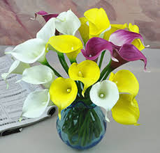 Calla Lily Vase Life Discount Artificial Flowers Lilies Vase 2017 Artificial Flowers