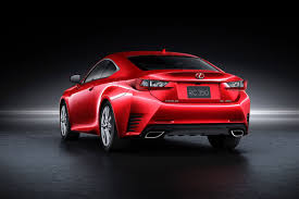 red lexus lexus will launch rc coupe with a new four base coat red paint