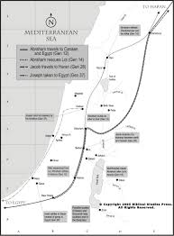Timeline Maps Today U0027s Torah Portion Maps