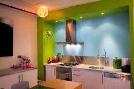 cuisine gris et vert anis deco cuisine gris et vert anis innovant intérieur moderne deco