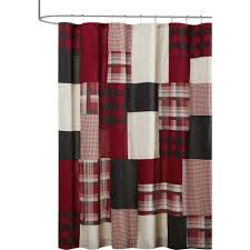 Check Shower Curtain Black And White Check Shower Curtain Shower Curtain Ideas
