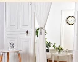 Window Sheer Curtains White Window Sheer Curtains Voile For Living Room