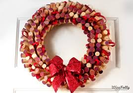 how to make wreaths how to make a wreath out of wine corks wine folly