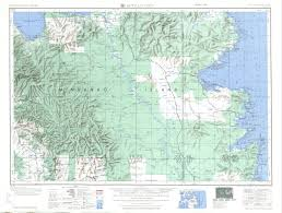 Oregon Elevation Map by