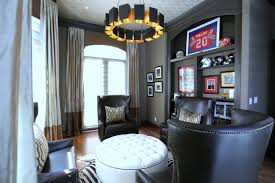 Houston Interior Designers by Meadows Downtown Houston Elegant Masculine Transitional