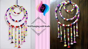 how to make wall hanging with beads hanging beads decoration