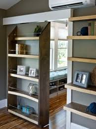 Wall Bookcase With Doors Bookcase Sliding Doors Foter