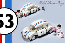 lego volkswagen beetle lego ideas herbie the love bug