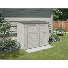 design garden pretty suncast storage shed in white made of wood