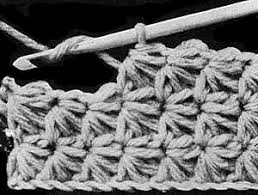 crochet pattern using star stitch star stitch crochet patterns